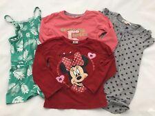 John Lewis Next Disney Minnie Mouse Girls Dress T-shirt Top Bundle 4-5 years