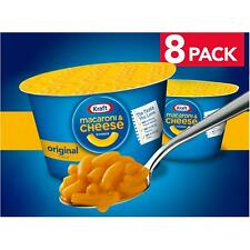 New listing Easy Mac Original Flavor Macaroni And Cheese Dinner Cups 8 Pack Snack Box New
