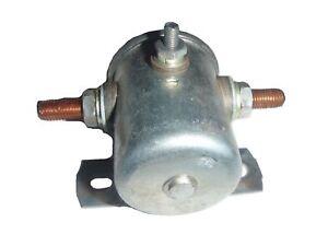 NOS MADE IN USA Starter Motor Solenoid Switch 1949-1955 Kaiser Frazer 6V NEW