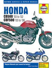 Reparaturanleitung Honda CB 500/CBF 500 93-08