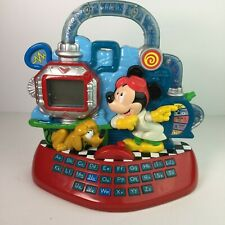 Mickey Mouse Pre-K Electronic Alphabet Phonics Word Game Vintage 2001 Disney