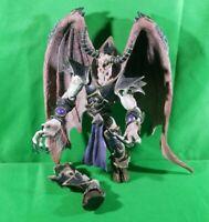 "Toycom Blizzard 2003 Tichondrious 9"" Figure -Broken Leg- World Of Warcraft Rare!"