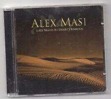 Alex Masi  – Late Nights At Desert's Rimrock CD Album Finland Import