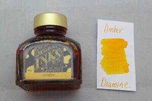 Diamine 80ml Fountain Pen Bottled Ink Amber