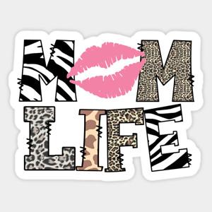 FUNNY MUM MOM LIFE  IRON ON T SHIRT TRANSFER A5