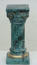Säule Stuckgips Säulen Dekosäule Podest Blumensäule Fenster Optik Marmor 23 F130