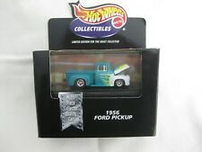 Hot Wheels 1999 Cool Collectibles 1956 Ford Green & White Body Mint In Box