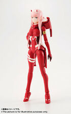(P) BANDAI S.H.FIGUARTS SHF DARLING IN THE FRANXX 02 ZERO TWO ACTION FIGURE