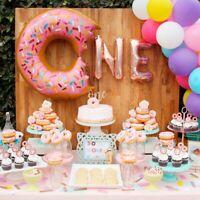 Donut Balloon Tableware Party Range Baby shower Kids Birthday Hanging Decoration