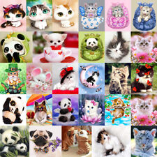 5D DIY Diamond Painting Flower Animal Broderie Cross Crafts Stitch Home Decor