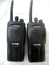 Two kenwood ProtalkTK 3201 T2 Licence Free Walkie Talkies with chargers & manual