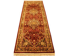 Red runners for hallways Woven 8 foot Traditional Superb Quality 31 x 97 in
