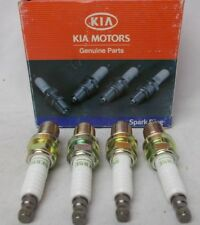 NGK Spark Plug BKR5E Stock # 1938 Lot of 4 Plugs OE Kia 0K01A18110