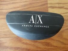 Armani Exchange Sunglasses Case Only Black Large Hardcase Eyewear Eyeglasses