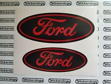 2 X  FORD MONDEO ST MK3 2005 MODEL FRONT & REAR RED & BLACK BACKGROUND