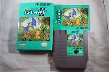 Adventure Island II 2 (Nintendo NES) Complete in Box POOR