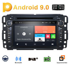 Android 9.0 Quad Core For GMC Sierra 1500 2500HD 3500HD Car Radio DVD Player GPS