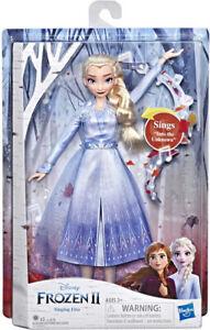 Disney Frozen 2 Singing Elsa Doll 30cm Action Figure
