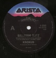 "KROKUS   Rare 1984 Australian Only 7"" Mint OOP Metal Single ""Ballroom Blitz"""