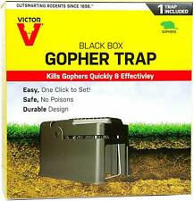 Victor 0626 The Black Box Gopher Trap Rodent Control Catch Hunting Trap
