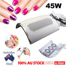3 Fans Nail Suction Manicure Dust Collector Vacuum Cleaner Machine Tool 45000MP