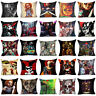 Cartoon Horror Story Throw Pillow Case Polyester Sofa Cushion Cover Home Decor
