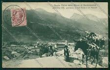 Torino Bardonecchia Genta cartolina QK1064