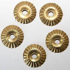 5 Rosetten- TONDO,SENZA PUNTE! Ottone, per Pomello mobili Accessori Oro
