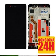 DISPLAY LCD + TOUCH SCREEN + FRAME ASSEMBLATO HUAWEI P9 COMPLETO EVA-L09 NERO