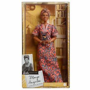 Barbie 2021 Inspiring Women MAYA ANGELOU Doll (GYH04) Black Label