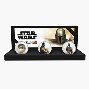 The Mandalorian Chapter 2 A Star Wars Story Limited Edition Silver Coin Box Set