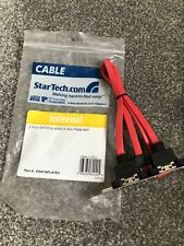 StarTech.com 2 Port SATA to eSATA Slot Plate Bracket (0.3m)