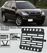 For 04-10 Lexus RX 330 350 400H 450H Front Bumper Tow Hook License Plate Bracket