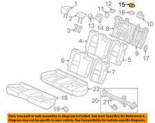 Rear Honda Genuine 82940-TM8-J91ZA Headrest Assembly