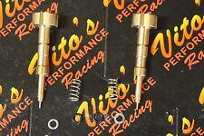 Vito's Yamaha Raptor 660 adjustable fuel air mixture screws UPGRADED BRASS 01-05