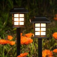2x  Modern Lawn Patio Yard Walkway Garden Solor Power LED Pathway Light Outdoor