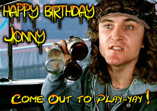 The Warriors - Come out to Play Happy Birthday PERSONALISED UNOFFICIAL ART Card