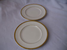 Royal Worcester Viceroy Gold Trimmed Bread Plates