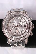 New Authentic Mens Joe Rodeo classic jcl72w st.steel 1.75ct.apx. Diamond Watch