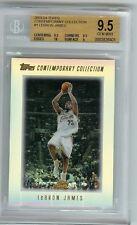 2003 LeBron James Topps Contemporary Collection BGS 9.5 gem mint RC gold foil sp