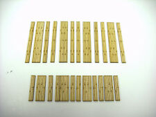 Laser Cut  N Scale Double & SIngle Timber Grade Crossing Combo Pack