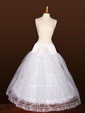 4-Hoop Super FULL Petticoat Slip Crinoline Wedding Gown
