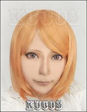 563 Attack on Titan/Shingeki no Kyojin Petra Ral Short Light Orange Cosplay Wig