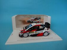 TOYOTA YARIS WRC #8 - OTT TANAK - 1º RALLY CATALUÑA 2019 - 1/43 NEW SPARK MS001