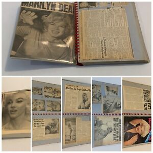 One of a Kind : MARILYN MONROE August 1962 +++ Death NEWSPAPER LOT Photos 60 Pgs