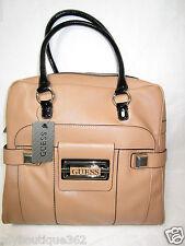 GUESS SAFIYA camel  tote handbag purse New WITH TAG