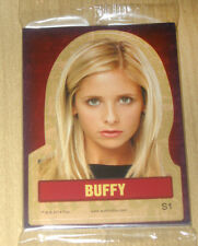 2015 Rittenhouse BUFFY Sarah Michelle Gellar 9-card sticker set