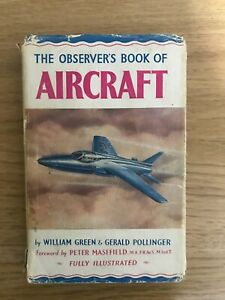 The Observers Book Of Aircraft 1954 - Fully Illustrated VINTAGE BOOK