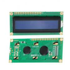 US IIC/I2C/TWI/SP​​I Serial Interface1602 16X2 Character LCD Module Display Blue