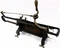 oferton!! MUY Antigua maquina de TRICOTAR de coleccion  GLACES & FLENTJE